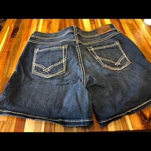 Women's BKE Culture denim jeans Shorts 30 W